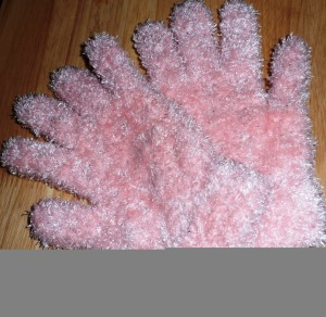 Furry Vampire Gloves